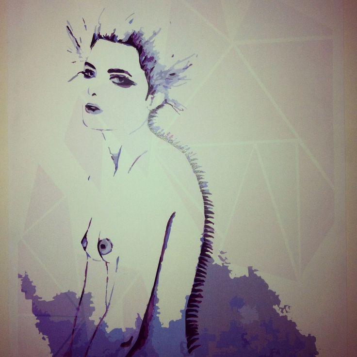 fashion illustration by Joanna Franks