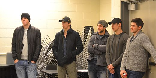 the heart of the team supporting Duper