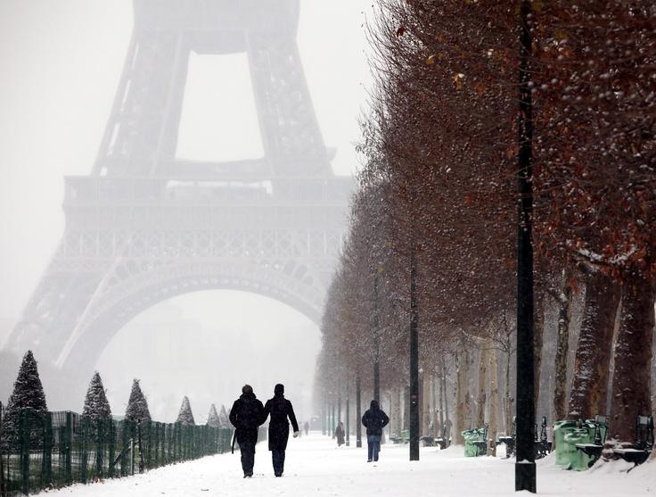 Paris is beautiful even in winter.