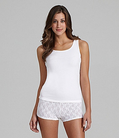Jasmine and Ginger Tank and Lace BoyShort Boxers #Dillards