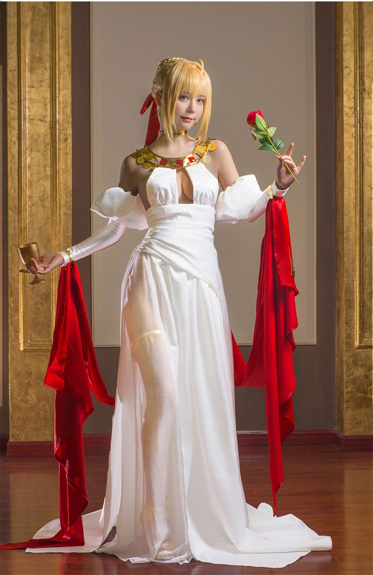 Fate Grand Order Saber Nero Claudius anime cosplay