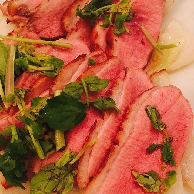 揚げ物は塩派の人イイね、コメント下さい。 #鴨肉 #美味しい #鴨 #肉 #美味しい