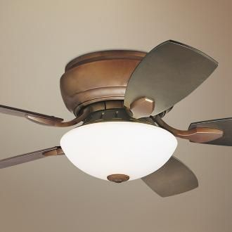 Low profile fans for low ceilings. like this style fan