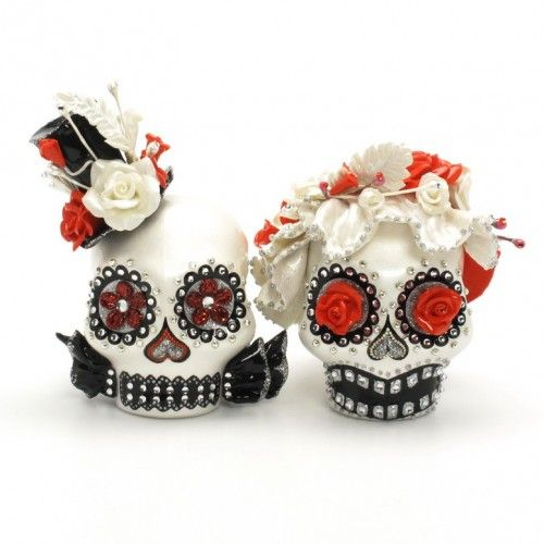 candy skull wedding cake toppers 311 best images about day of the dead on 12353