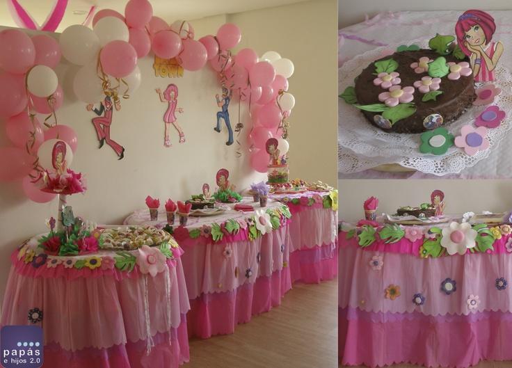 Decoraci n de cumplea os de lazy town fiestas infantiles - Decoracion de fiestas de cumpleanos infantiles ...