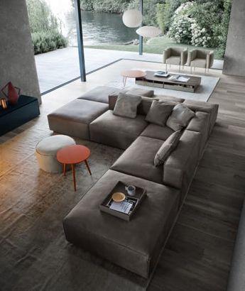 Wohnzimmer Ideen Minimalistisch. eine couch für alle ...