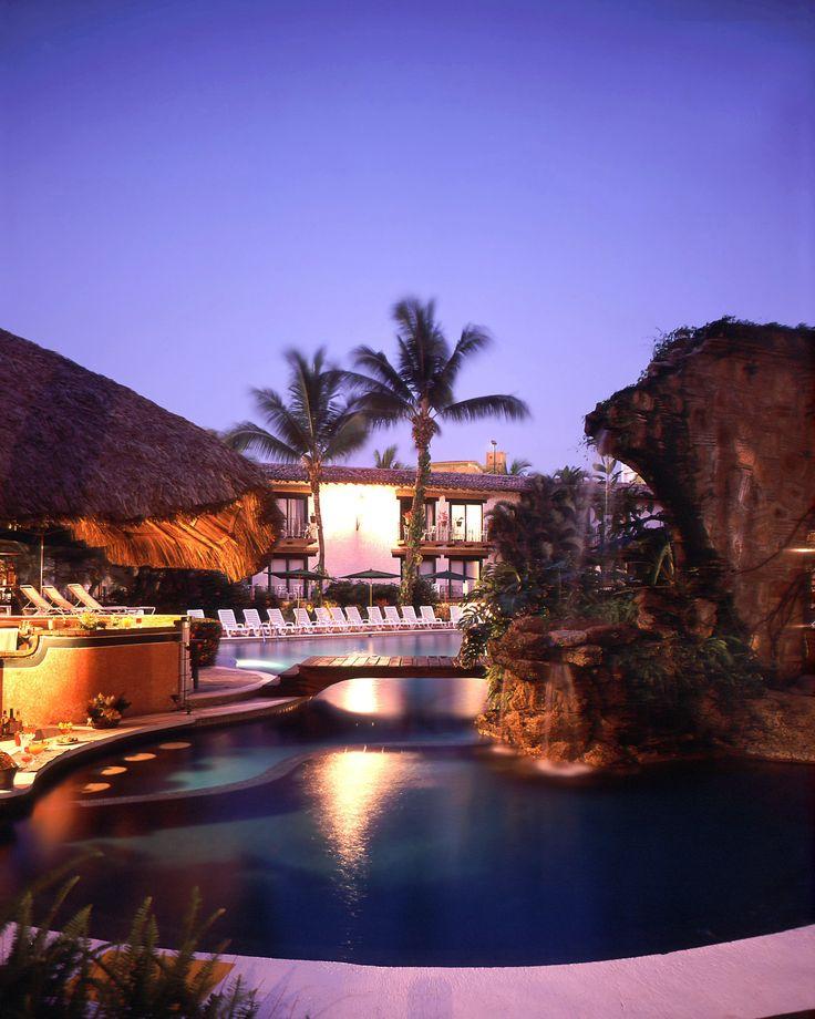 Alberca-Hacienda Hotel Spa & Beach Club