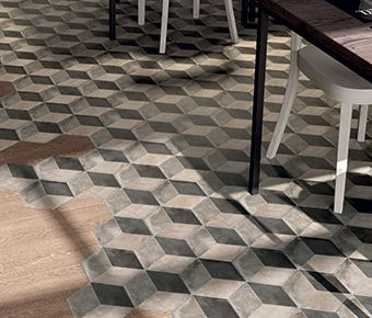 CIOT HABITAT-PLANCHERS -TERRA-TERRA Cementine tiles embody the charm of 19th century cement tiles.