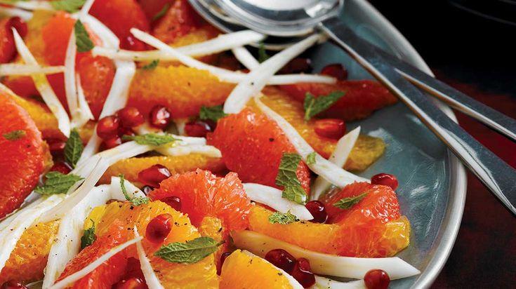 salade grenade fenouil orange