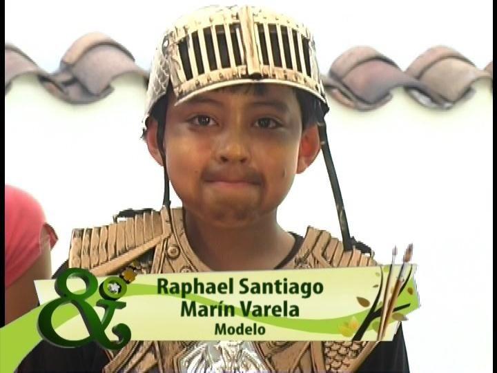 Mi hijo Raphael en el programa