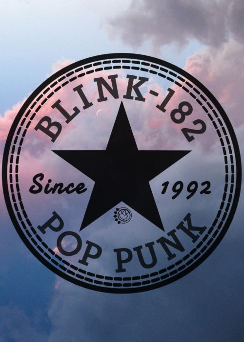 "Love the design though I'm not exactly supportive of calling Blink ""pop"" punk I thought they were just punk"