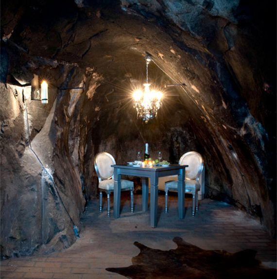 Simple Underground Hotel Room