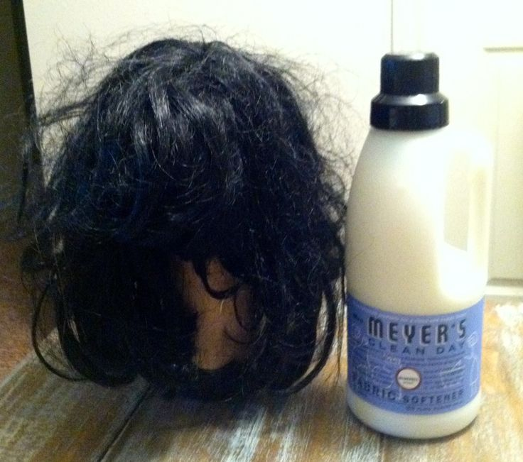 How to get a synthetic wig back in perfect condition—much better than throwing one out!