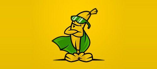 banana logo design