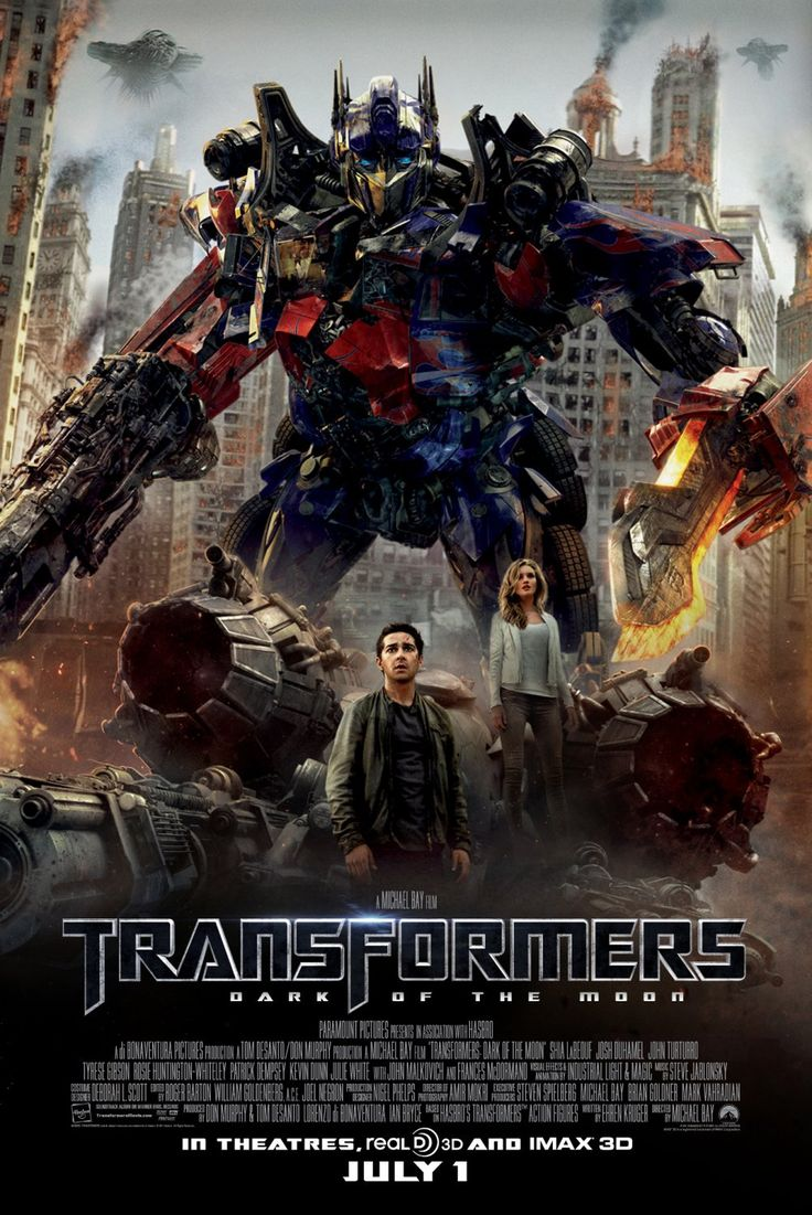 Transformers - Dark Side of the Moon