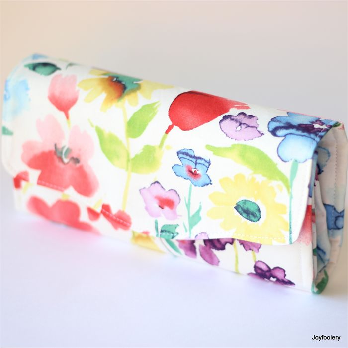 Watercolour Necessary Clutch Wallet by Joyfoolery