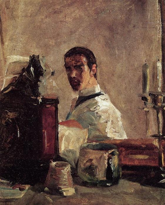 Henri de Toulouse-Lautrec...self portrait