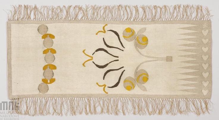 A rug designed by Karol Tichy