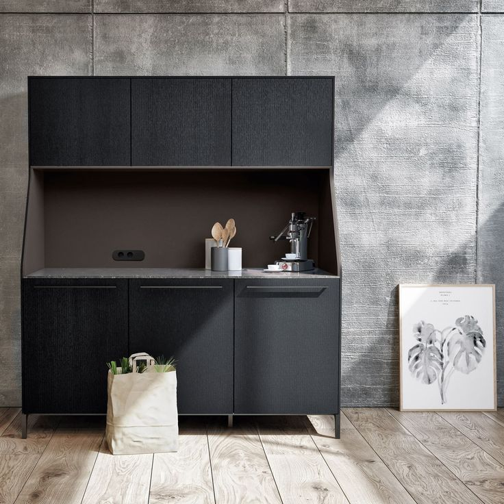 Standout German Designed Minimalist Kitchen, The SieMatic 29 Is Modeled  After A Traditional Sideboard