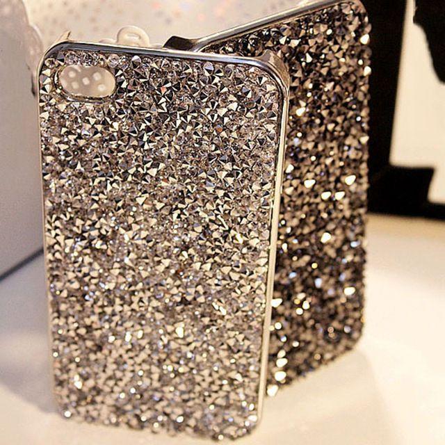 Новый Стиль Роскошные Bling Rhinestone Крышка Модное Кристаллы Алмазов Телефон…