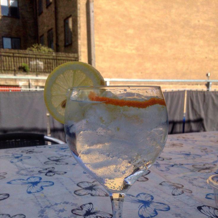 Gin tonic !!