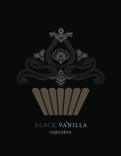 Black Vanilla Cupcakes <3