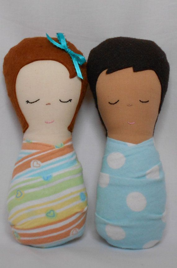 Doll Pattern - Sleepyheads Baby Doll PDF Sewing Pattern on