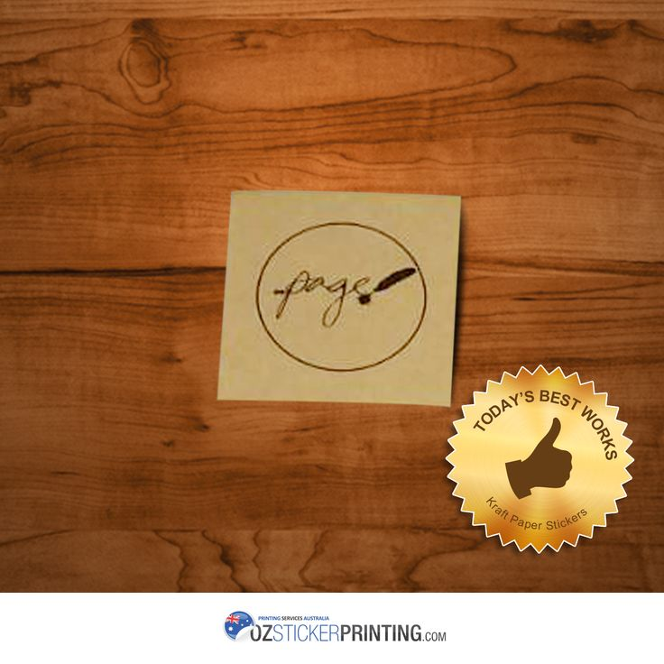 Take your brand to the next level! We'll help you achieve the best quality of your labels. Check out Kraft Paper Stickers for as low as $53 only! Order now!