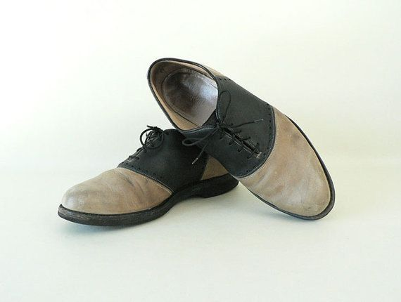 Mens Johnson and Murphy Saddle Shoes Size 9 by EinsteinandPippy