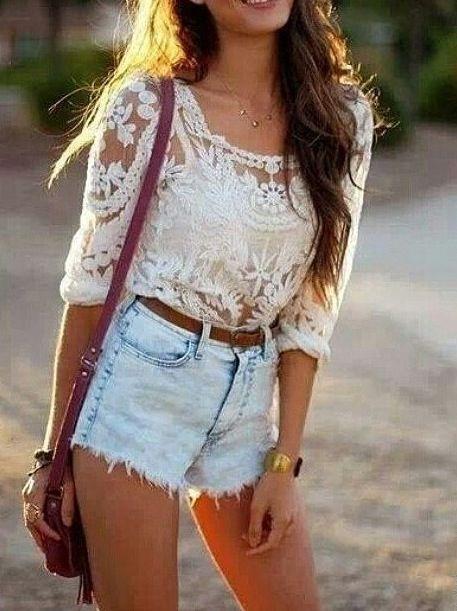 Best 20  High waisted shorts ideas on Pinterest | Hipster summer ...