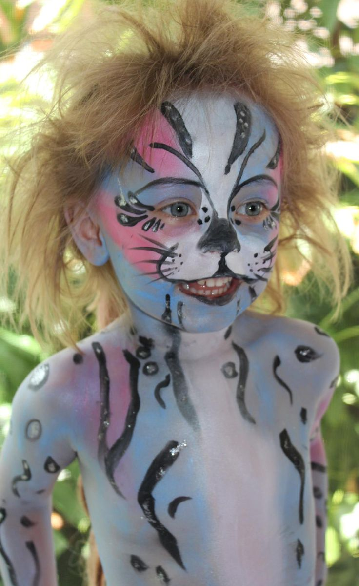 Body Art Face Painting CREATIVE Hair and Makeup Face Painter:  Michelle Butler
