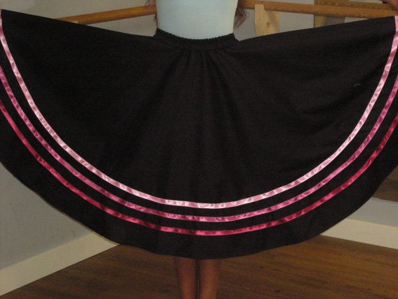 Ballet character skirt with elastic by JustMyStyleBoutique on Etsy