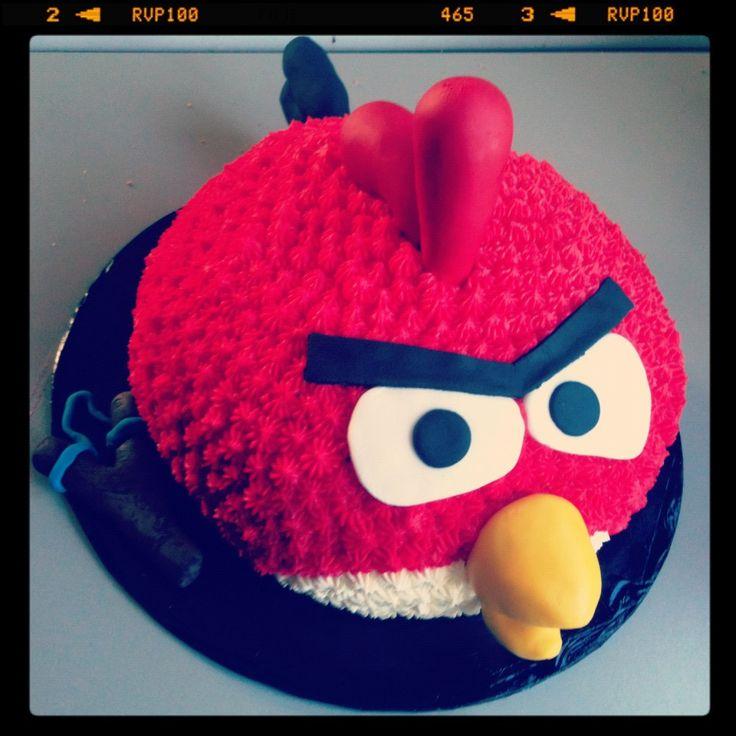 Angry bird cake!Nephew Bday
