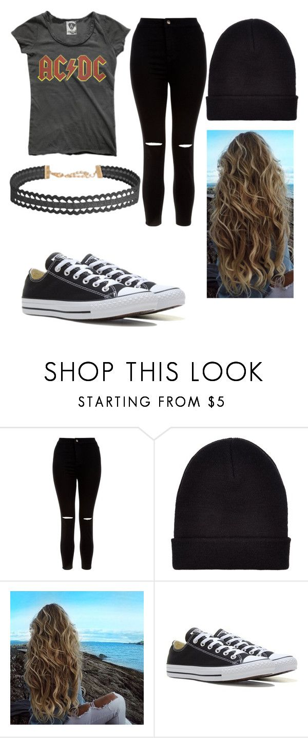 """""""Ashton Irwin's girlfriend"""" by cheyanne-lei ❤ liked on Polyvore featuring New Look, Converse and Humble Chic"""