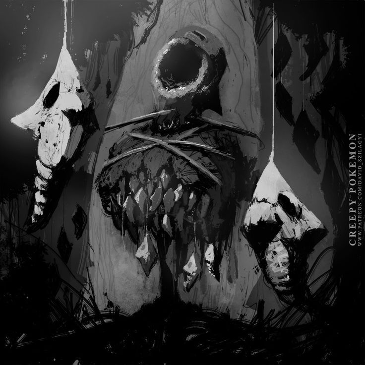 ArtStation - Creepy Pokemon: 011 Metapod, David Szilagyi