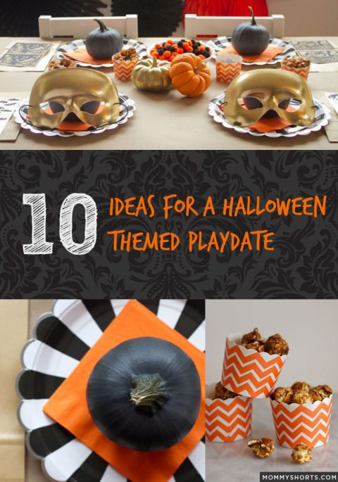 10 ideas for a halloween themed play date
