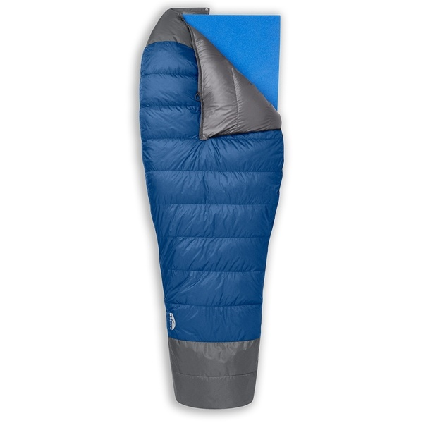 Go Lite's UltraLite 800 Fill 3-Season Quilt (Regular Length) weighs in at 1 1b 7 oz.  There are definitely other sleeping bags and quilts out there that boast a greater weight savings but for this weight and the new price tag it is something to think about.  Go Lite is now selling to directly to the consumer, which means lower prices.  Most of their sleeping bags are out of stock until August, but check them out.