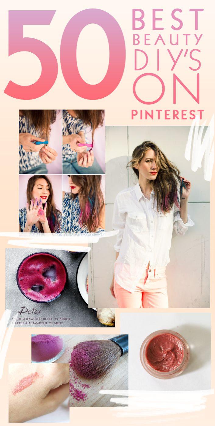 the 50 best beauty diys on pinterest!