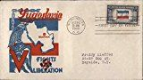 #10: Yugoslavia Fights for Liberation Original First Day Cover