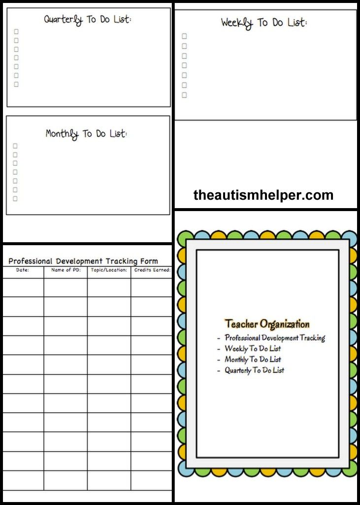 Must have forms and templates for a special education for Special education schedule template