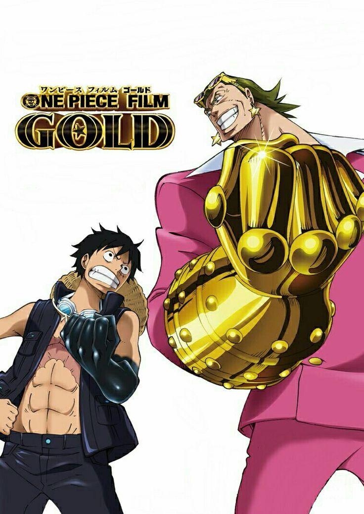 One piece film: GOLD Monkey D. Luffy  & Gildo Tesoro