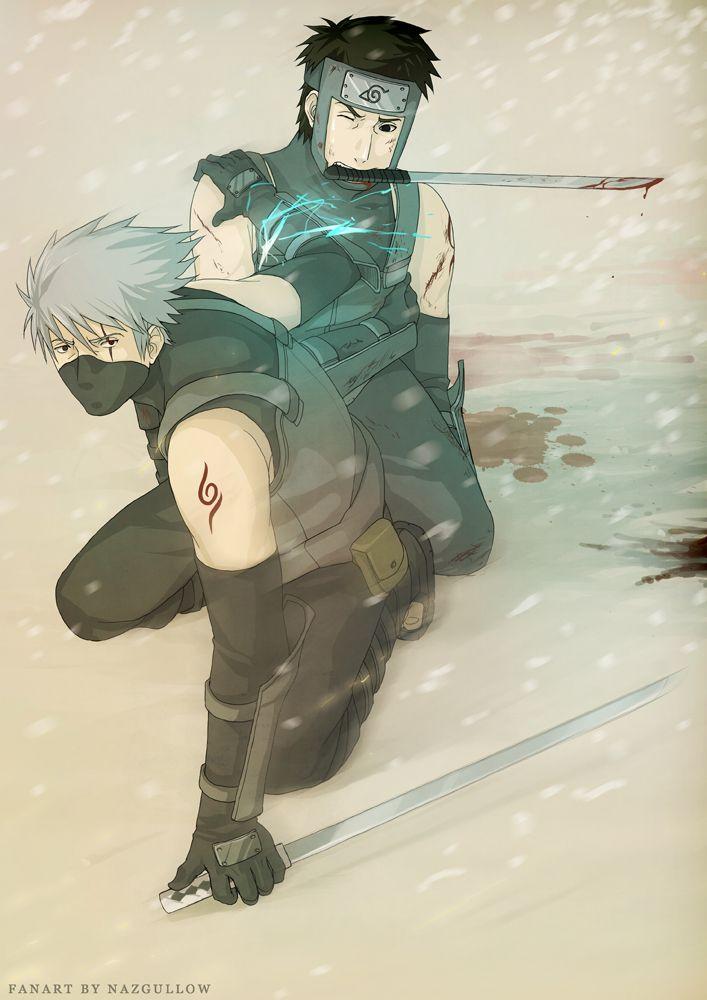 Naruto - Kakashi n Yamato ANBU by Nazgullow on deviantART ...