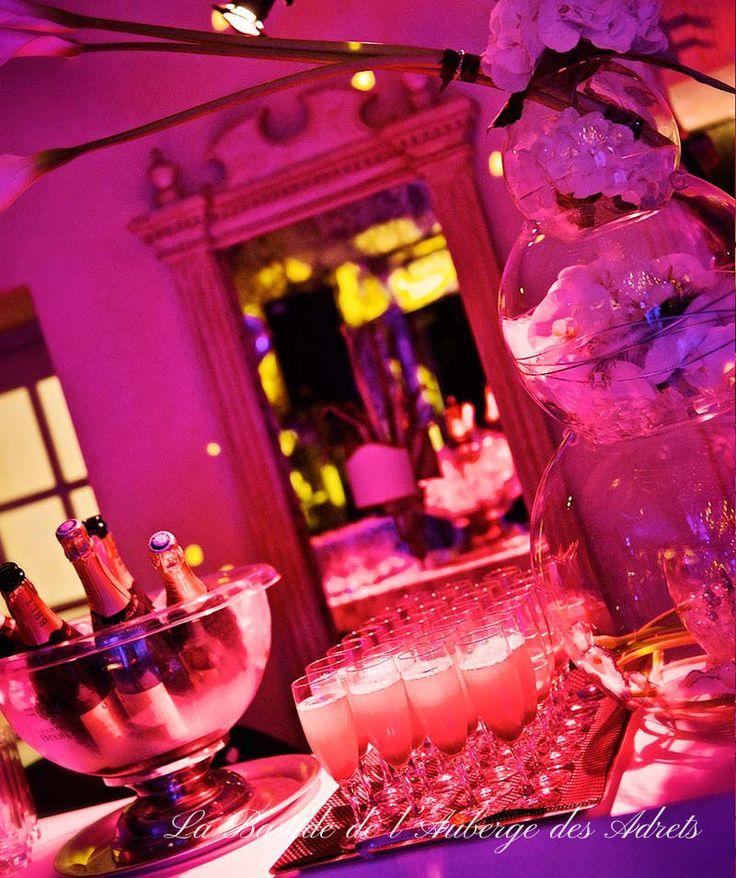 Wedding venues in France #wedding #France #Provence #pink #decoration