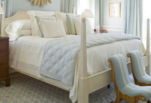 @Laurie  Gwin   PHOEBE'S TOP TEN: BEAUTIFULLY MADE BEDS    One thing I know is undeniable: when you make the investment in beautiful bedding, and sleep in a properly made bed, it is truly a life changing experience. It all matters: the mattress, the mattress pad, the pillows, and the bedding. Buy the best you can possibly afford, and I promise it is worth it. We like to make our beds a certain way, here are the basics:     The sheets, pillowcases, and duvet cover should match. The coverlet…