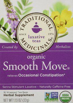Traditional Medicinals Organic Smooth Move Tea http://detoxdietdrinks.com
