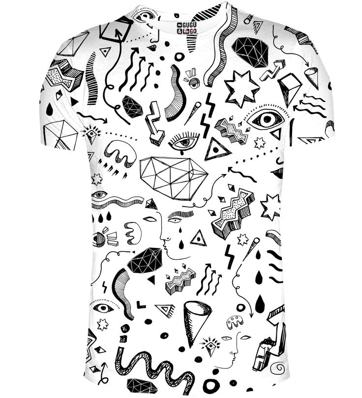 Symbols t-shirt, Mr. GUGU & Miss GO