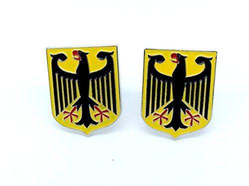 Deutsch Königlichem Wappen Kaiseradler Deutschland-Flaggen Cosplay Cufflinks Manschettenknöpfe - http://schmuckhaus.online/patch-nation/deutsch-koeniglichem-wappen-kaiseradler