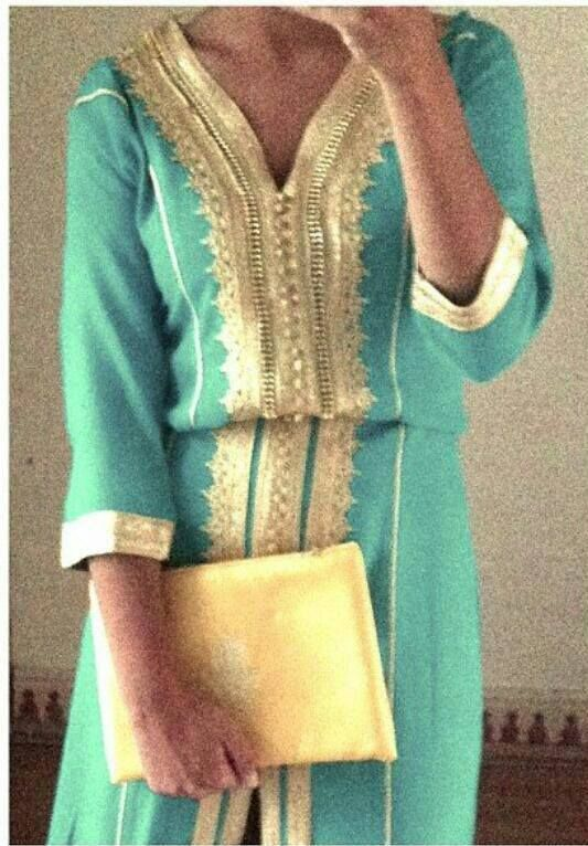 I'm in love with moroccan dresses