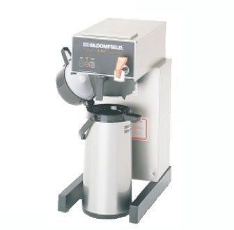 """Bloomfield 1088AF E.B.C Electronic Airpot Brewer, Pour-Over Option, Faucet, 17"""" Depth, 10"""" Width, 21 1/2"""" Height -- More info could be found at the image url. #CoffeeMachines"""
