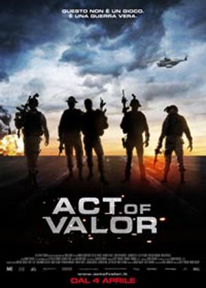 Act of Valor (2012) An elite squad of Navy SEALs is tasked with rescuing a kidnapped CIA agent from a lethal terrorist cell in this covert-action thriller, which features active duty SEALs playing the lead fighting roles in a saga based on actual events. Alex Veadov, Roselyn Sanchez, Nestor Serrano...TS bio